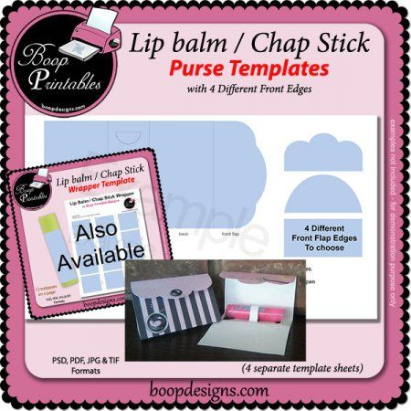 17 best images about paper crafts lip balm cards on pinterest gift card holders petite. Black Bedroom Furniture Sets. Home Design Ideas