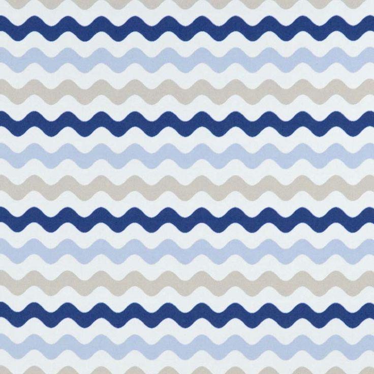 Warwick Fabrics : MERIMBULA, Colour MARINE