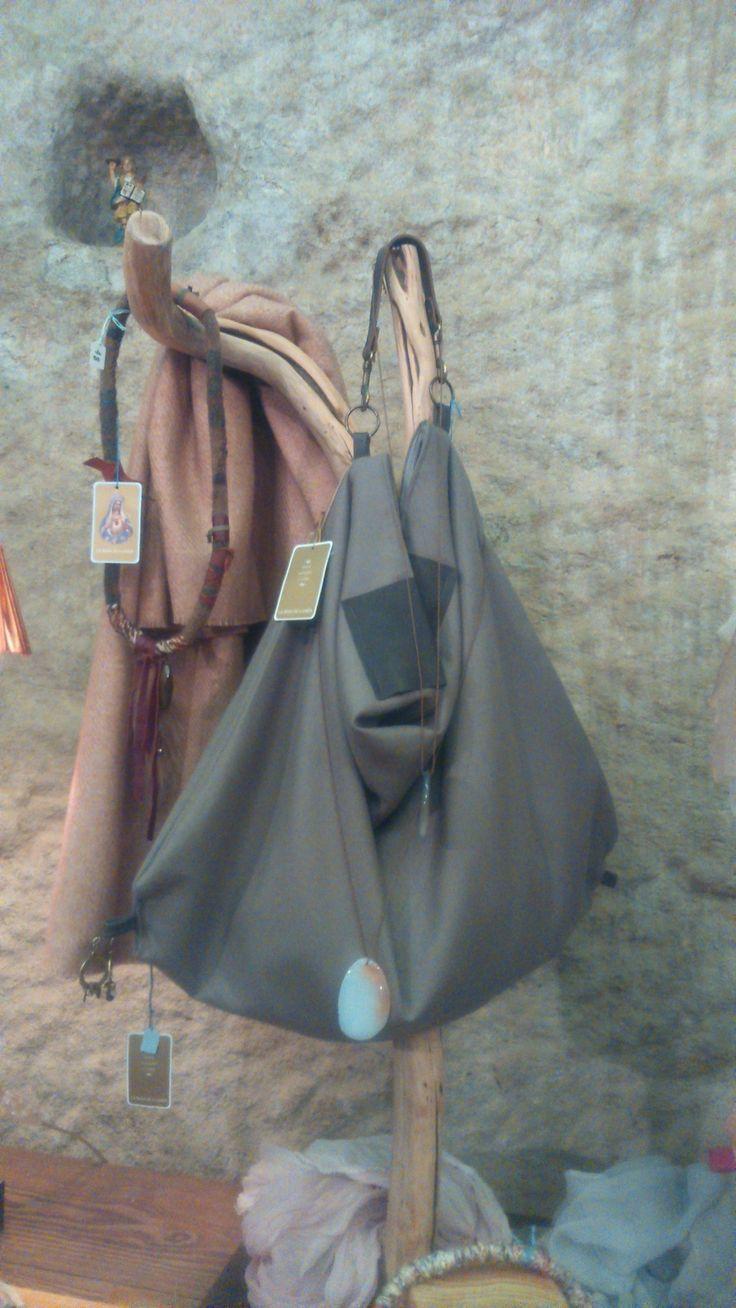 Bolsos de lana, handmade