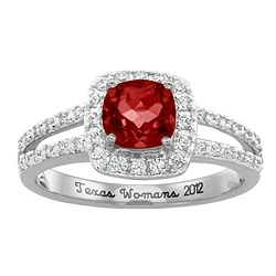 My personalized Senior ring?!