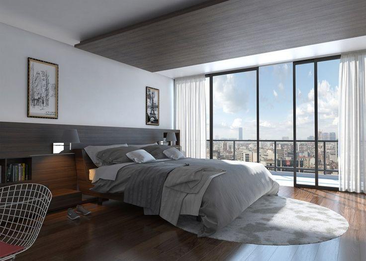 ark renders modern bedroom by molteni alejandro