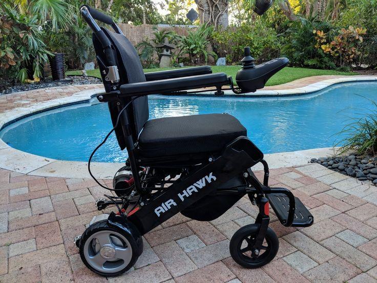 USED Air Hawk Power Folding Wheelchairs Powered