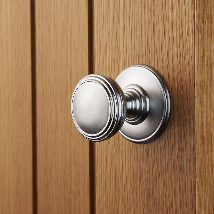Plain Knob - DK35C #LocksandHardware #CarlisleBrass #HomeDecor #Home #DoorKnob #interiordesign #interior