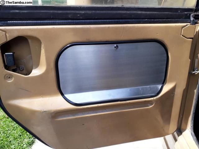 Thesamba Com Vw Classifieds Door Pocket Covers With Lock Stainless Vw Escarabajo Autos Vw Autos