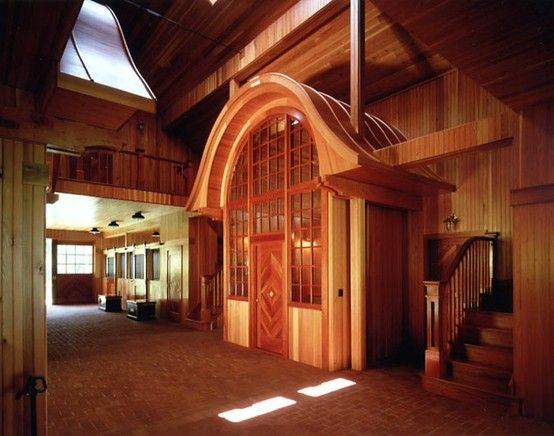 STRANGE RANCH BUILDINGS - AMAZING UPSCALE HORSE STALLS AND ...