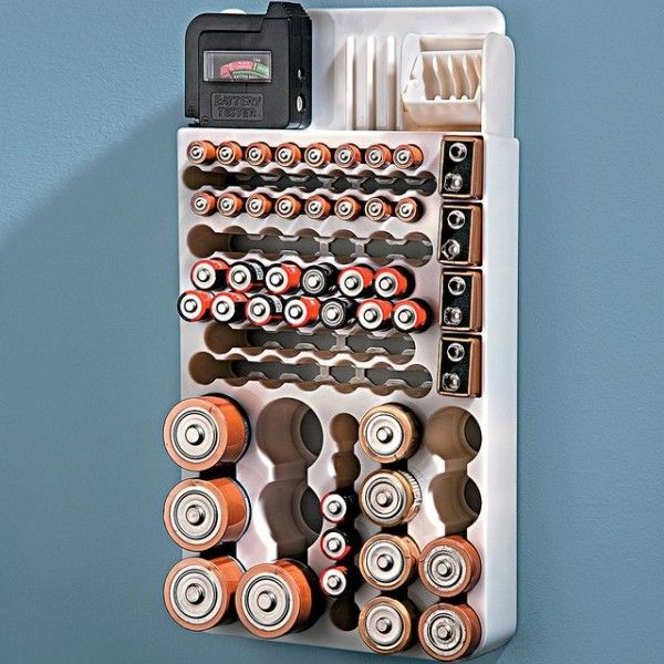 20 best battery organizers images on pinterest organization ideas battery organizer with tester solutioingenieria Images