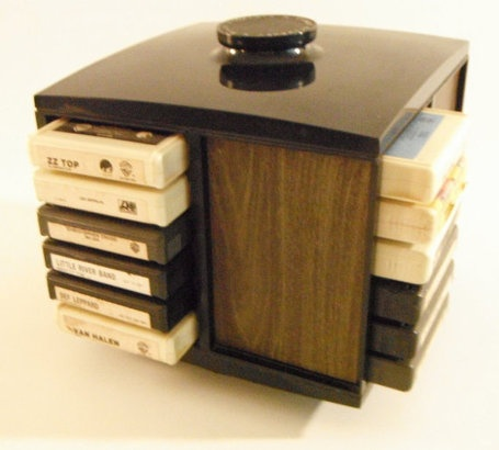 I had an 8-track holder just like this.