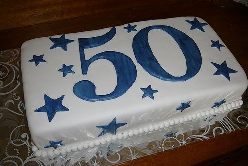 50th birthday cake | 50th Birthday Cakes | walah..walah