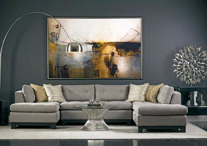 Best 25 gray living rooms ideas on pinterest grey walls - Gray modern living room furniture ...