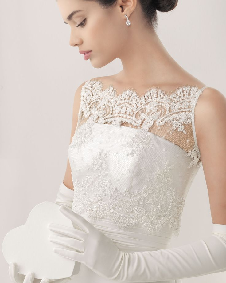 Lace Coverlet From Rosa Clara 2014