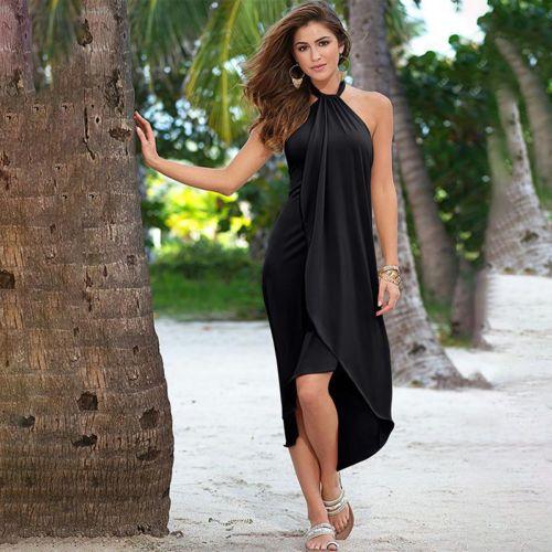 Women Summer Boho Long Maxi Dresses Evening Cocktail Party Casual Beach Sundress