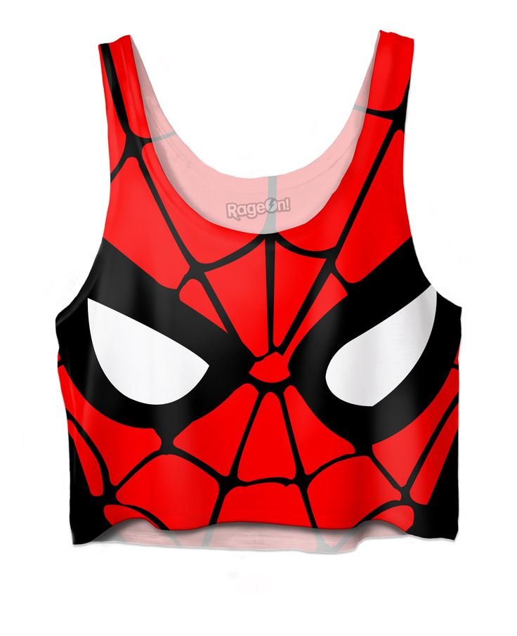 Pin Spiderman Crop Top to one of your boards if you like it !