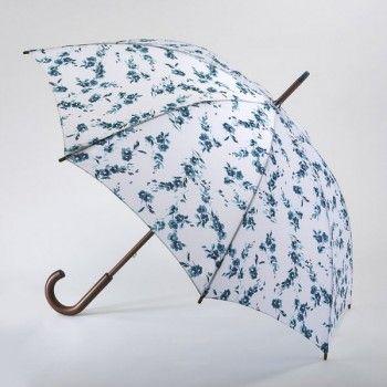 Fulton dámský holový deštník Kensington 2 PORCELAIN BLOOM L056