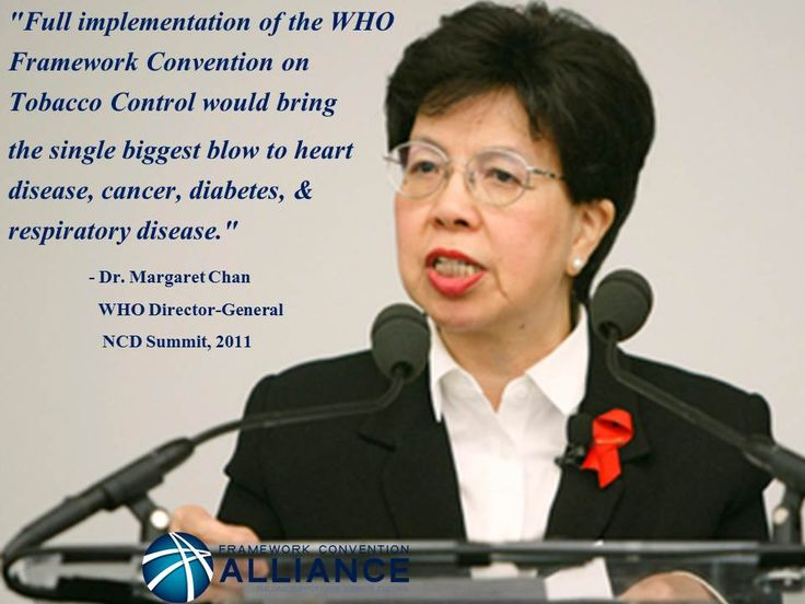 WHO Director-General Margaret Chan tells world leaders why tobacco control is essential to the fight against NCDs.
