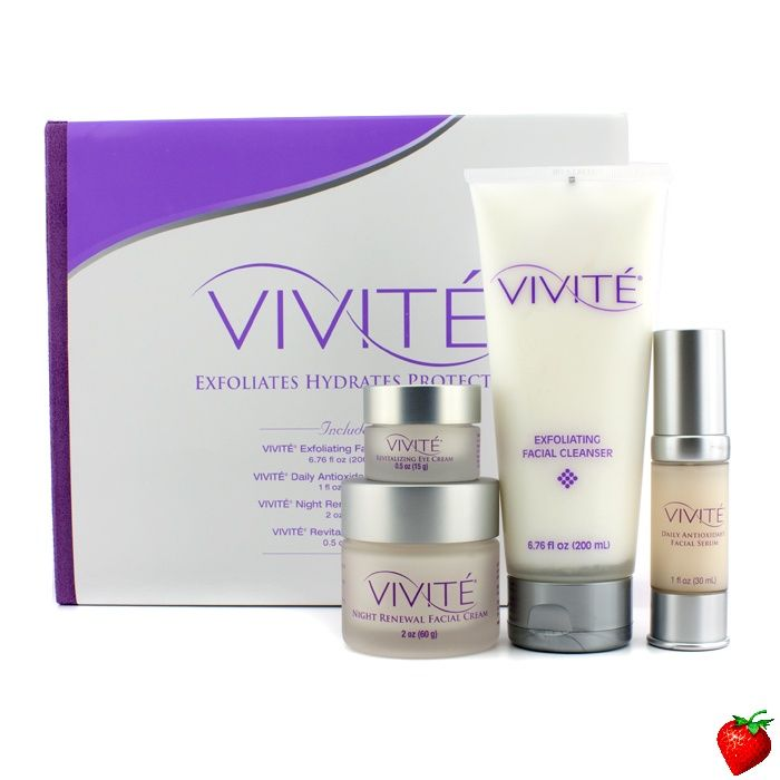 Vivite exfoliating facial cleanser — 3
