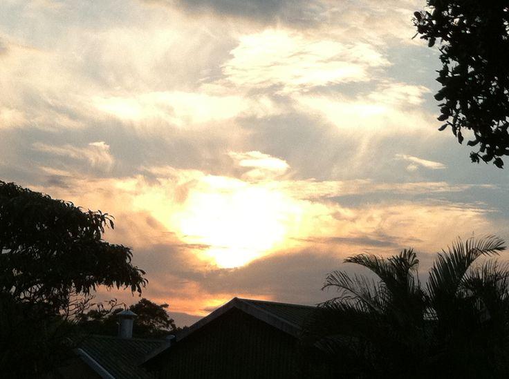 Our beautiful sunrise