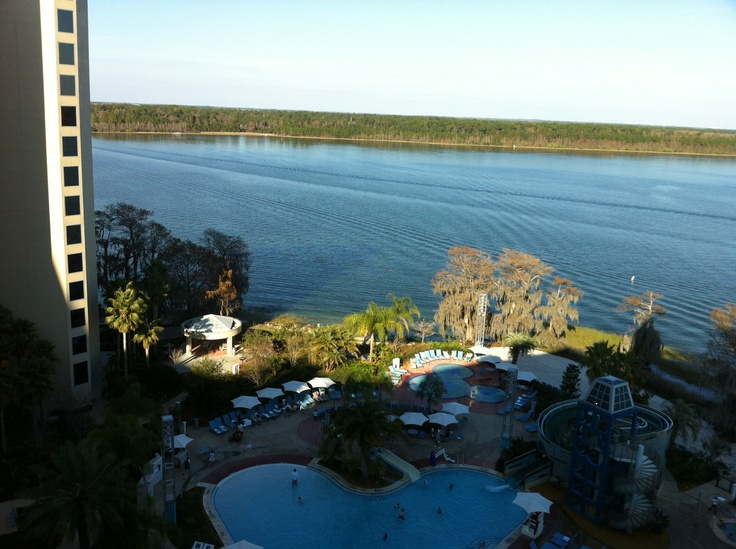 View From Our 11th Floor 2 Bedroom Lake View Villa At Disney 39 S Bay Lake Tower At The