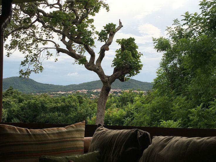 Vista de Pirenópolis - Pousada Cavaleiro dos Pirineus #paz #harmonia #natureza #diversidade