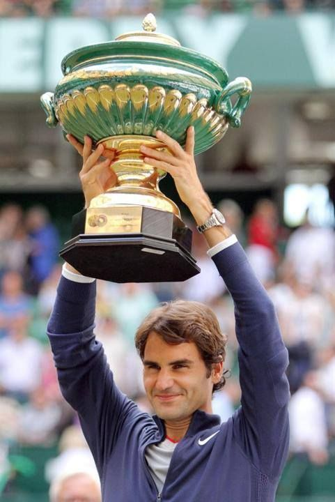 7th Heaven! Federer wins a 7th title at the  Gerry Weber Open 2014 (Halle, Germany)