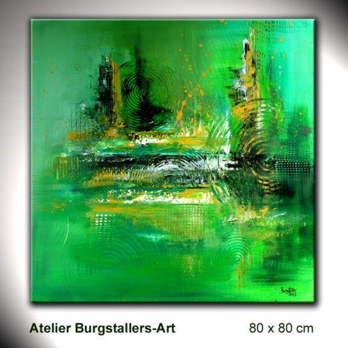 burgstaller modern gem lde original bilder kunst malerei abstrakt. Black Bedroom Furniture Sets. Home Design Ideas