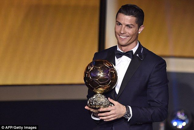 Ronaldo beat his rival to the award as he was crowned the 2014 Ballon d'Or winner after a stellar 12 months