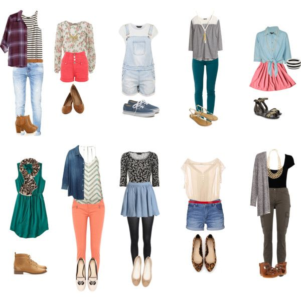 Back to High School Outfits for 2014!