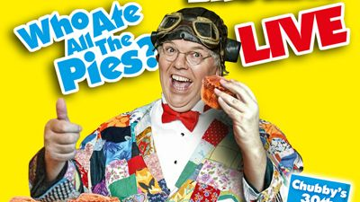 Fri 5 Sep 2014 Comedy: Roy Chubby Brown  At the Winding Wheel  Show starts 7.30pm.  Age Certification: Adults Only  Roy Chubby Brown returns with his meatiest show yet!  'Who Ate All The Pies?'