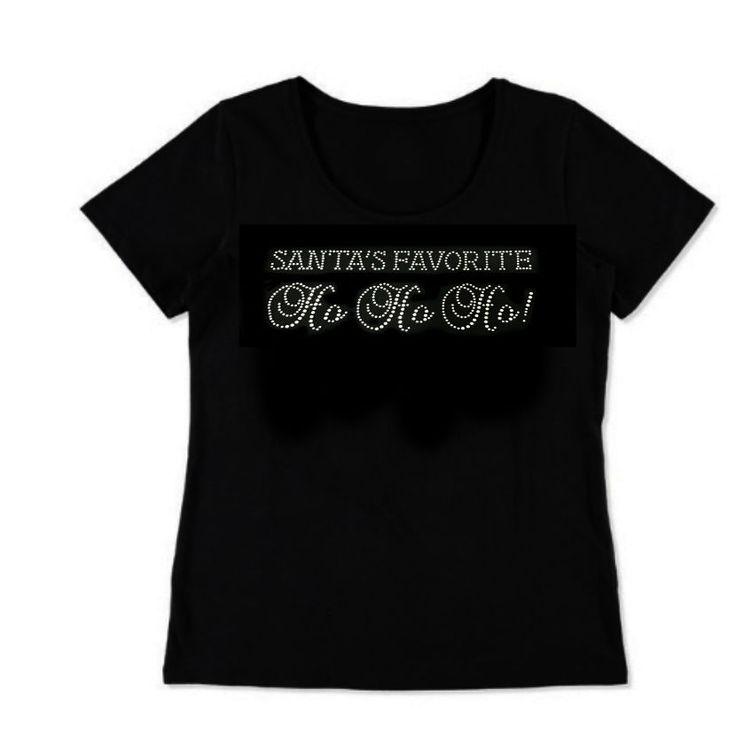 AU Christmas Handmade Plus Size Crystal Rhinestone T-shirt Gym Wear Women's 8-26    eBay