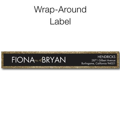 Stunning Union - Personalized Address Labels - Coloring Cricket - Umber - Brown : Front
