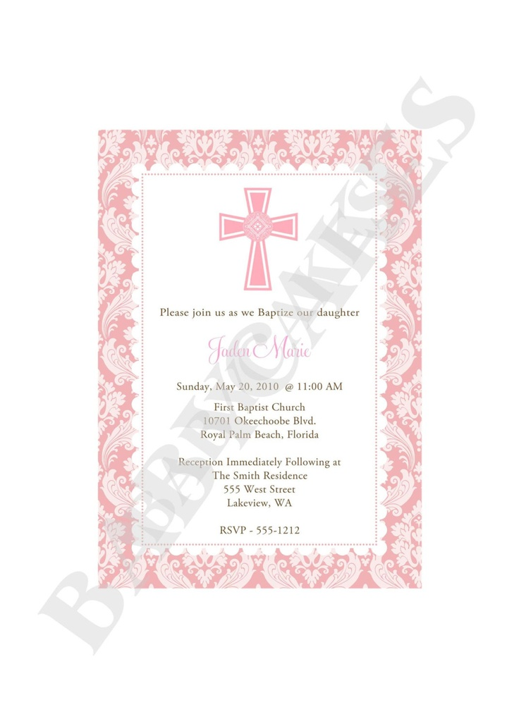 9 best invitations images on pinterest christening invitations girl baptism christening dedication first communion invitation diy print your own matching party printables solutioingenieria Images