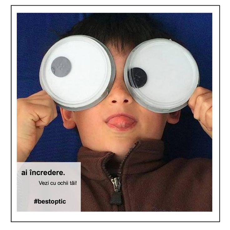 Dintre organele de simț, ochii sunt cei mai solicitați pe parcursul unei zile. Înainte de culcare, fă câteva exerciții simple împreună cu copilul tău. Rotiți ochii, fără să mișcati capul. Spre dreapta, spre stânga, în sus și în jos. Repetați exercițiul de 6 ori! Va activa musculatura ochilor. #exercitii #ochi #bestoptic