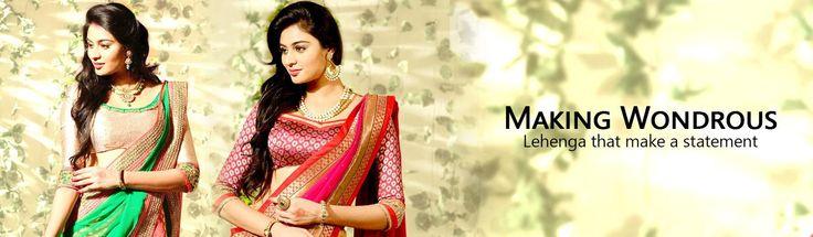 Buy Online Shopping for Latest Collection of Sarees, Designer Sarees, Indian Sarees, Salwar Kameez, Indian Salwar Kameez, Lehenga Choli, Wedding Lehengas, Saree Desgins. Buy Designer Sarees Online for Bridal, Wedding, Party.
