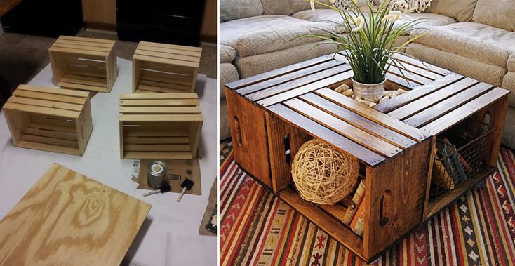 Build an awesome, creative piece of furniture.