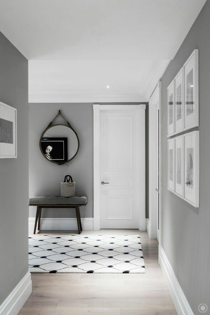 Grey Hall ideas