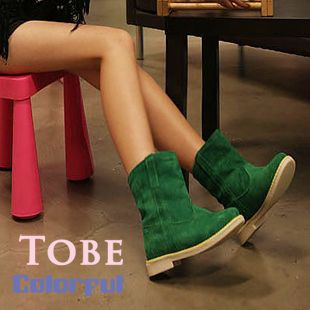 2013  spring fashion scrub velvet platform brief martin boots candy color suede  ankle boots retro women motorcycle boots