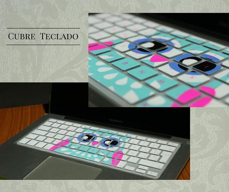 Cubre teclado de silicon para macbook. #buho #teclado #macbook #mac #regalo #awwww #bonito #tierno #14feb #valentine #protector #resistente #colores #moda #accesorio #apple #keyboard #accesories #bello #trendy #cute #gift #valentine's #love