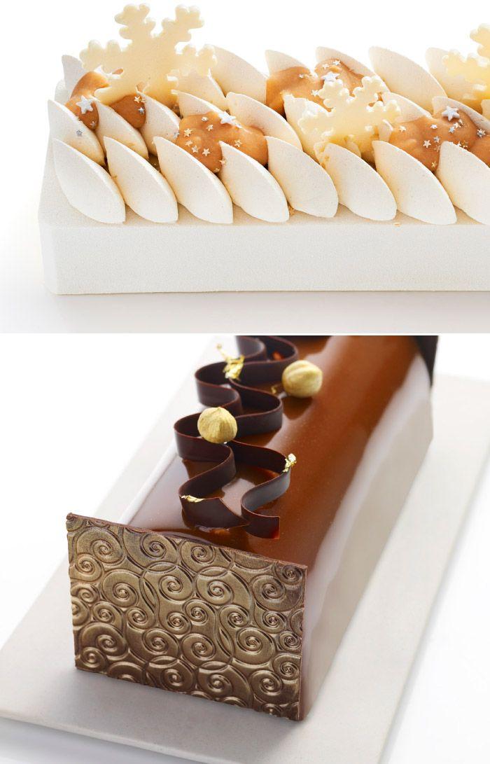 1121 best les buches de noel seasonal chocolate images. Black Bedroom Furniture Sets. Home Design Ideas