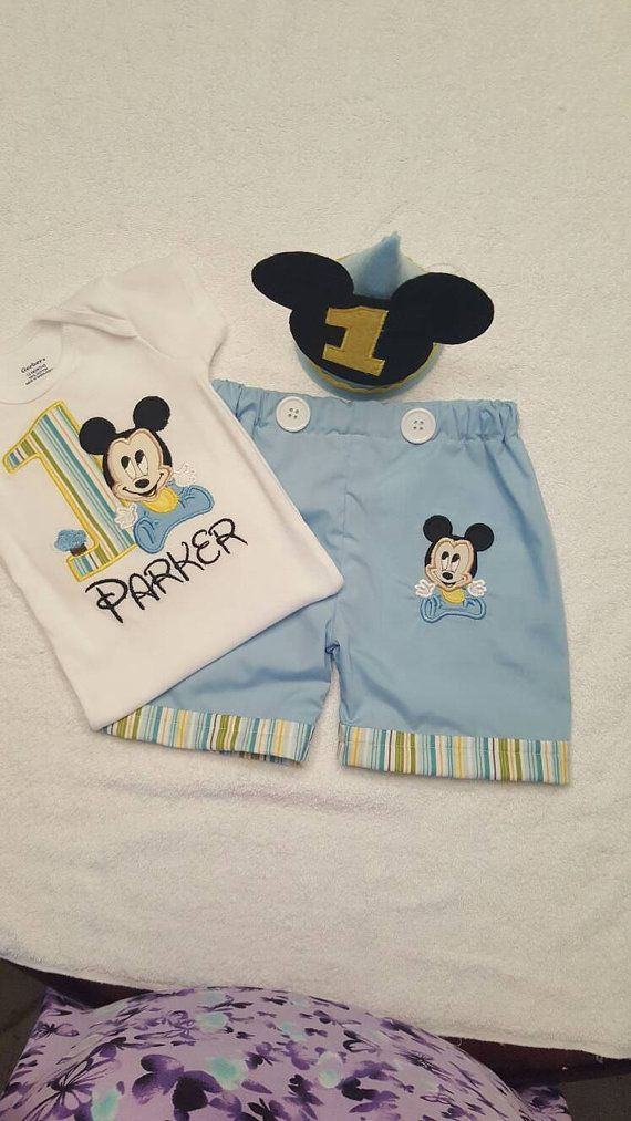 Check out this item in my Etsy shop https://www.etsy.com/listing/274753468/baby-mickey-mouse-first-birthday-outift