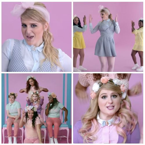 Meghan Trainor...love her positivity & style!