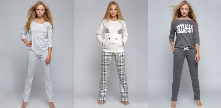 Женские пижамы из коллекции осень-зима 2016/2017 года ТМ Sensis Состав – 100% хлопок, размерный ряд: S, M, L, XL.   Все модели и размеры - http://relish.com.ua/index.php/cat/c33_PIZhAMY.html