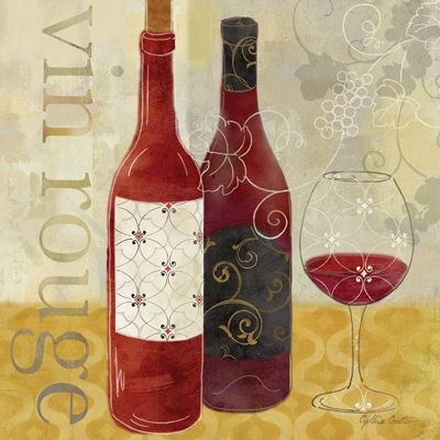 Wine Pattern I  Cynthia Coulter