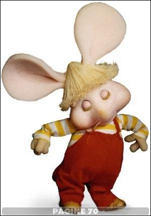 This is one of my earliest memories of a TV show.  Loved watching Topo Gigio on the Ed Sullivan Show.