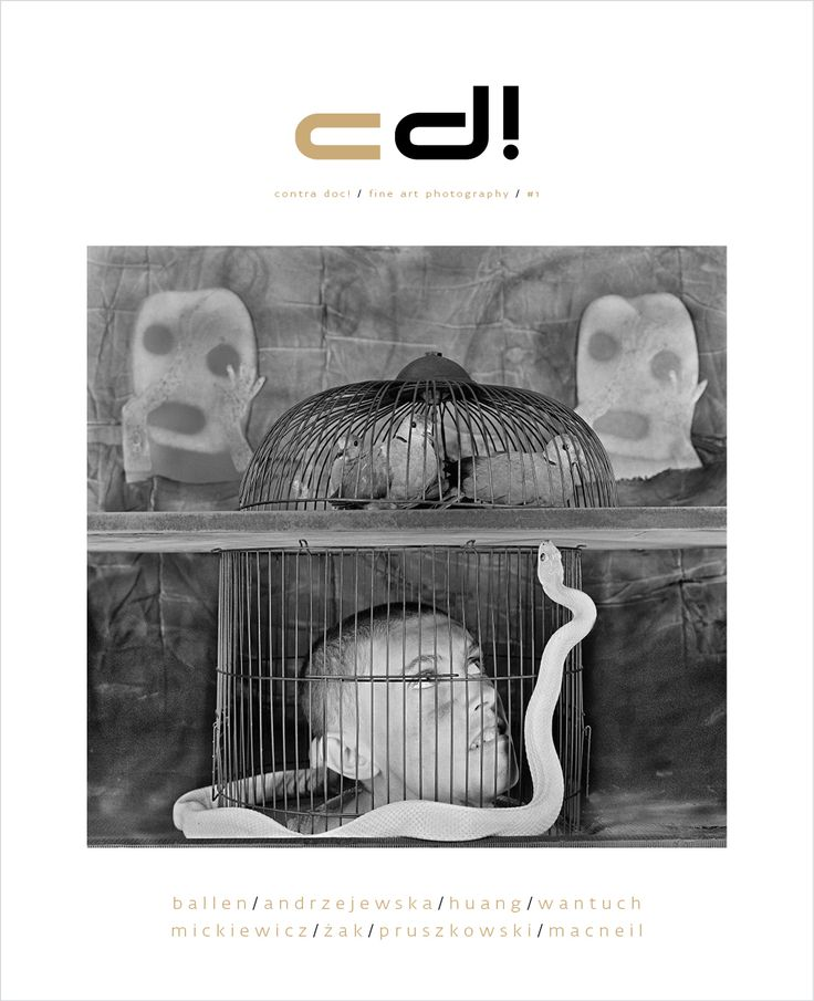 Cover of contra doc! #1  Cover photo: Roger Ballen