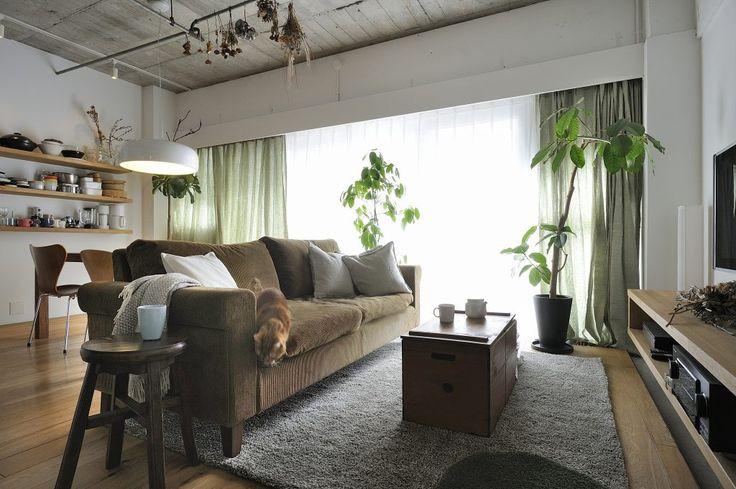 カーテンラグ寝具カバーを変えるだけでこんなに変わるお部屋のイメージ無印良品ver.後編