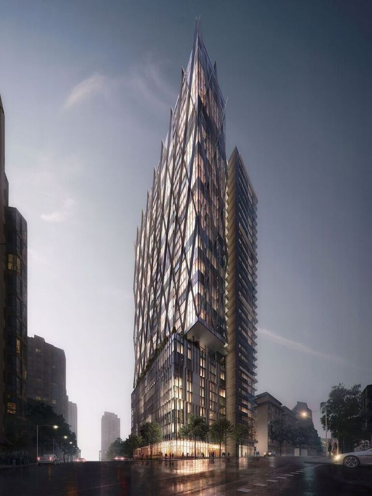 GBL Architects' 8X Tower Approved to be Built in Vancouver