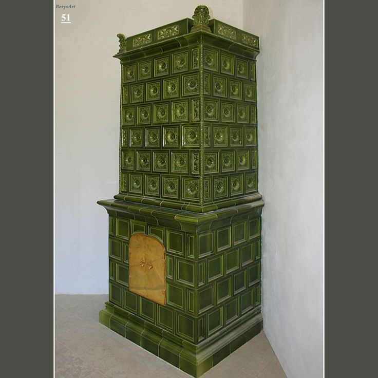 PIEC KAFLOWY Zaprojektowany i wykonany od projektu, wykonania modeli, form, kafli oraz montaż przez artystę plastyka, architekta wnętrz Ryszarda Krawczyka -BorysArt