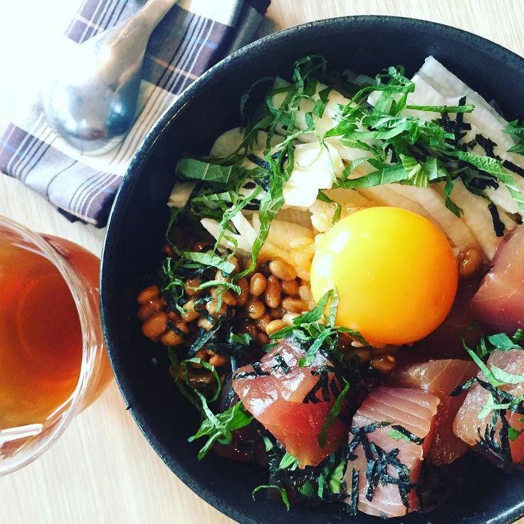 レシピ動画第1弾スタミナまぐろ漬け丼撮影しました 編集したらYouTubeチャンネルにUPします #まぐろ丼 #tunabowl #japanesefood #まこめし #makofoods
