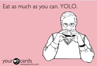 Never heard of YOLO until Rodney told me the other day haha