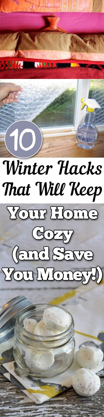 10 Winter Hacks That Will Keep Your Home Cozy (and Save You Money!)