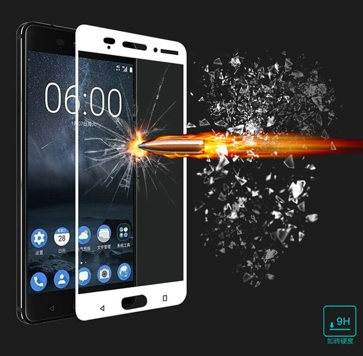 9H 2.5D Film Tempered Glass For Nokia 3 5 6 Phone Cover Full Cover Screen Protector Film Guard  For Oneplus 5 A5000 Three 3 3T   Price: 2.07 USD